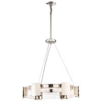 Stellaris LED 26 inch Polished Nickel Chandelier Ceiling Light