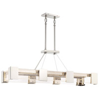 Stellaris LED 44 inch Polished Nickel Island Light Ceiling Light
