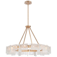 Metropolitan Arctic Frost 14 Light Chandelier in Antique French Gold N7280-595