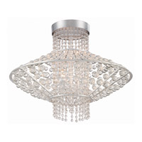 Metropolitan Saybrook 4 Light Semi-Flush in Catalina Silver N7304-598