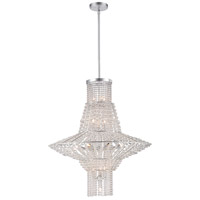 Saybrook 16 Light 28 inch Catalina Silver Chandelier Ceiling Light