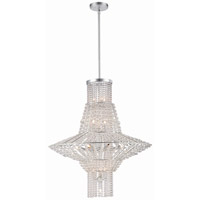 Metropolitan Saybrook 16 Light Chandelier in Catalina Silver N7316-598