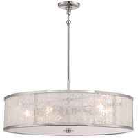 Lake Frost 5 Light 26 inch Polished Nickel Pendant Ceiling Light