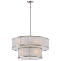 Lake Frost 8 Light 26 inch Polished Nickel Chandelier Ceiling Light