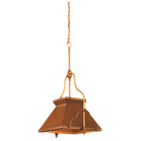 Signature 1 Light 17 inch Antique Brass Patina Pendant Ceiling Light