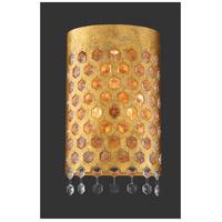 Metropolitan N7653-705 Kingsmont 3 Light Glitz Gold Leaf Wall Sconce Wall Light