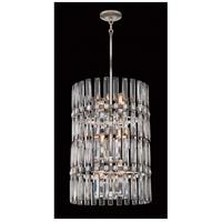 Metropolitan N7711-700 Belle Aurore 12 Light 17 inch Shadow Silver Leaf Pendant Ceiling Light