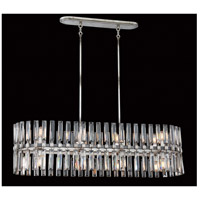 Metropolitan N7715-700 Belle Aurore 16 Light 45 inch Shadow Silver Leaf Island Light Ceiling Light