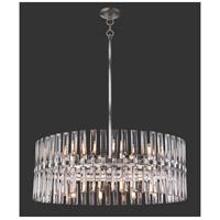 Metropolitan N7716-700 Belle Aurore 16 Light 33 inch Shadow Silver Leaf Pendant Ceiling Light