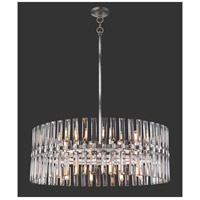 Metropolitan N7716-700 Belle Aurore 16 Light 33 inch Shadow Silver Leaf Pendant Ceiling Light