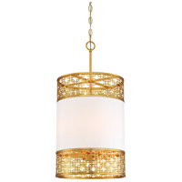 Metropolitan N7784-248 Blairmmor 4 Light 14 inch Honey Gold Pendant Ceiling Light
