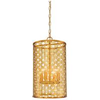 Metropolitan N7785-248 Blairmoor 4 Light 11 inch Honey Gold Pendant Ceiling Light
