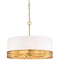 Metropolitan N7786-248 Blairmoor 6 Light 25 inch Honey Gold Pendant Ceiling Light