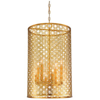 Metropolitan N7787-248 Blairmoor 8 Light 17 inch Honey Gold Pendant Ceiling Light