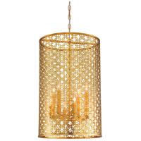 Metropolitan N7787-248 Blairmoor 8 Light 17 inch Honey Gold Pendant Ceiling Light