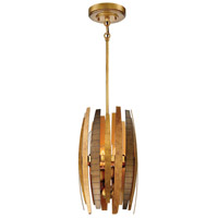 Manitou 4 Light 9 inch Ardor Gold Mini Pendant Ceiling Light