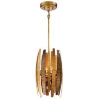 Metropolitan N7834-659 Manitou 4 Light 9 inch Ardor Gold Mini Pendant Ceiling Light