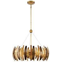 Metropolitan N7837-659 Manitou 6 Light 28 inch Ardor Gold Chandelier Ceiling Light