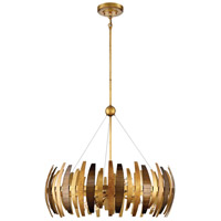 Metropolitan N7837-659 Manitou 6 Light 28 inch Ardor Gold Chandelier Ceiling Light