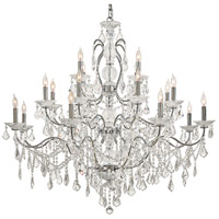 Signature 20 Light 45 inch Chrome Chandelier Ceiling Light
