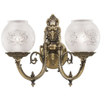 N801902 Metropolitan Metropolitan 2 Light 16 inch Wall Sconce Wall Light