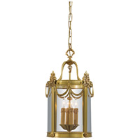 Signature 4 Light 12 inch Dore Gold Foyer Pendant Ceiling Light