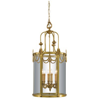 Signature 6 Light 19 inch Dore Gold Foyer Pendant Ceiling Light