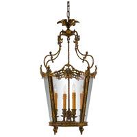 Metropolitan N851204-OXB Signature 4 Light 19 inch Oxide Brass Foyer Pendant Ceiling Light