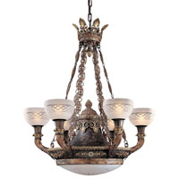Metropolitan Signature 9 Light Chandelier in Aged Black N9003 photo thumbnail