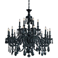Metropolitan Vintage 18 Light Chandelier N9008-BK