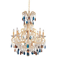 Metropolitan Vintage  8 Light Chandelier in Gold N9011