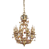 Metropolitan Signature 10 Light Chandelier in French Gold N9013