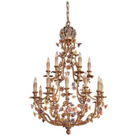 Metropolitan Vintage  18 Light Chandelier in French Gold N9014