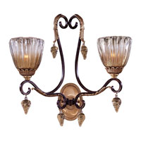 Metropolitan Vintage  2 Light Sconce in Sienna Bronze N9017