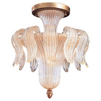Metropolitan Vintage  4 Light Chandelier in Gold Leaf N9021 photo thumbnail
