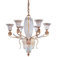 Metropolitan Vintage 8 Light Chandelier in Impeccable Gold Leaf N9022
