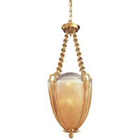 Metropolitan Vintage  8 Light Pendant in French Gold Leaf N9028