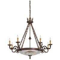 Metropolitan Family 12 Light Chandelier in Flemish N9032