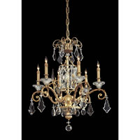 Metropolitan Vintage  7 Light Chandelier in French Gold N9039