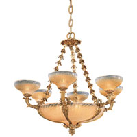 Metropolitan Vintage  12 Light Chandelier in French Gold N9043 photo thumbnail