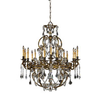 Metropolitan Vintage  15 Light Chandelier in French Gold Patina N9047 photo thumbnail