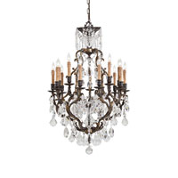 Metropolitan Metropolitan Family 15 Light Chandelier in Bronze N9051