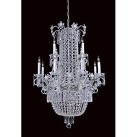 Metropolitan N9062 Vintage 12 Light 38 inch Silver Chandelier Ceiling Light