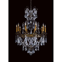 Metropolitan Signature 10 Light Chandelier in Oxide Brass N9065 photo thumbnail