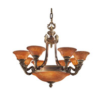 Metropolitan Signature 12 Light Chandelier in Antique Bronze N9075-AN