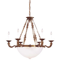 Metropolitan Family 10 Light Chandelier in Flemish N9079