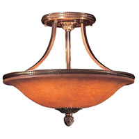Metropolitan Signature 6 Light Semi Flush in Antique Bronze N9081-AN
