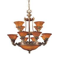 Metropolitan Metropolitan Family 16 Light Chandelier in Antique Bronze N9085-AN