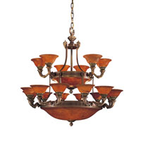 Metropolitan Metropolitan Family 27 Light Chandelier in Antique Bronze N9086-AN