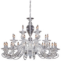 Signature 28 Light 41 inch Chrome Chandelier Ceiling Light